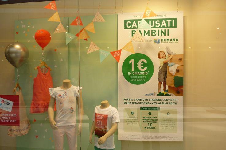 Dare una seconda vita ai propri abiti usati per aiutare i bambini più bisognosi. Dal 24 aprile al 7 maggio, porta gli abiti usati del tuo bambino nei negozi Zeta e Z generation!