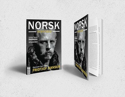 """Check out new work on my @Behance portfolio: """"Norwegian History Magazine"""" http://be.net/gallery/53685523/Norwegian-History-Magazine"""