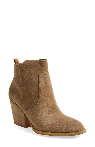 Free shipping and returns on Treasure&Bond 'Winsor' Block Heel Bootie (Women) at Nordstrom.com. A clean-cut and effortlessly versatile suede bootie set on a stacked block heel has serious wardrobe-favorite potential.When you buy Treasure&Bond, Nordstrom will donate 2.5% of net sales (that's 5% of net profits) to organizations that work to empower youth.