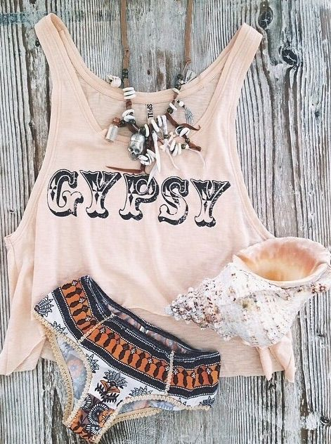 Gypsy tank top