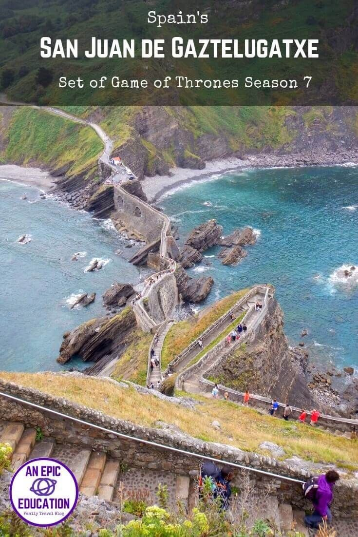 If You Re In Northern Spain And Plan To Travel In Basque Country Then A Visit To San Juan De Gaztelugatxe Is A M Spain Road Trip San Juan De Gaztelugatxe Trip