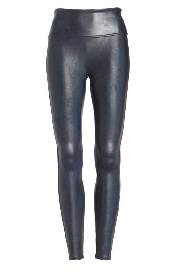 Faux leather leggings by Spanx at Nordstroms