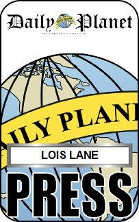 Lois Lane Press Pass Daily Planet                                                                                                                                                                                 More