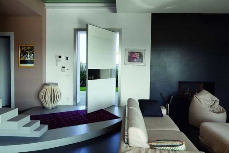 Security front doors, interior doors - OIKOS    Synua pivot entry door