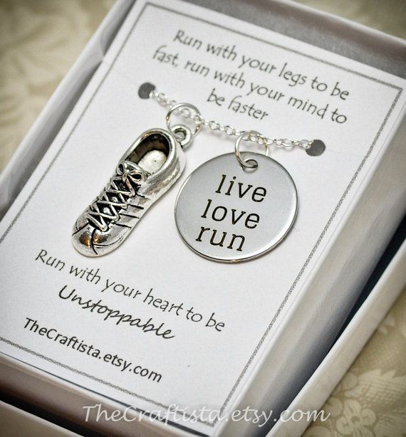 Track and Field Necklace TF Cleats Shoes Charm by TheCraftista