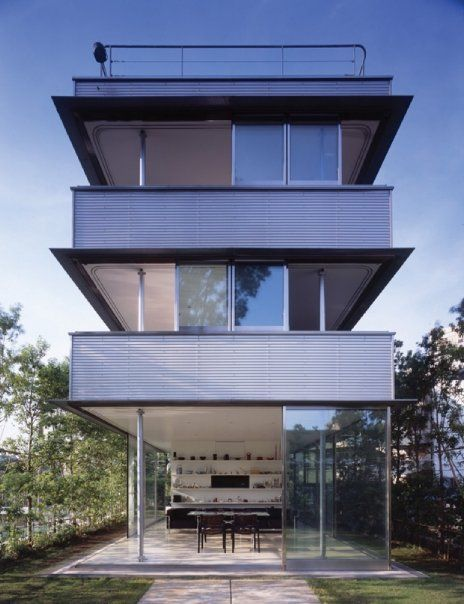 Wall less house, Tezuka Architects