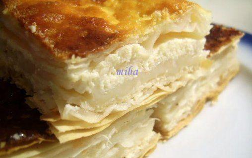 Retete Culinare - Placinta cu branza si iaurt