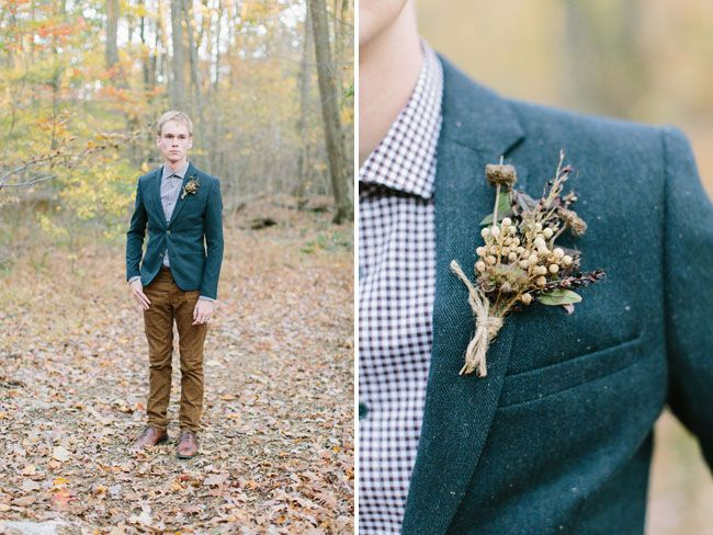 blue and brown suit