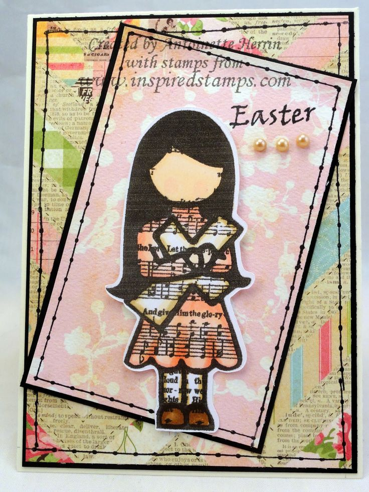 art; journal; cards; character card; MARCH; Inspired Stamps;  artwork at www.inspiredstamps.blogspot.com
