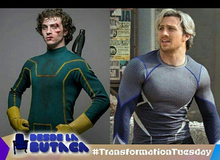 Hoy es #TransformationTuesday y les traemos al actor Aaron Taylor-Johnson en sus dos papeles más relevantes #kickass y #quicksilver. Un gran cambio no?  #DLB #DesdeLaButaca #Marvel #Avengers #XMen Lee más al respecto en http://ift.tt/1hWgTZH Lo mejor del Cine lo disfrutas #DesdeLaButaca Siguenos en redes sociales como @DesdeLaButacaVe #movie #cine #pelicula #cinema #news #trailer #video #desdelabutaca #dlb