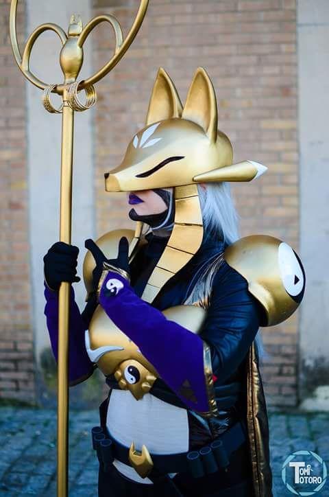 Sakuyamon cosplay from Digimon Tamers by Luna Selenium ...
