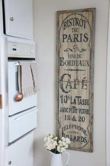 paris cafe kitchen
