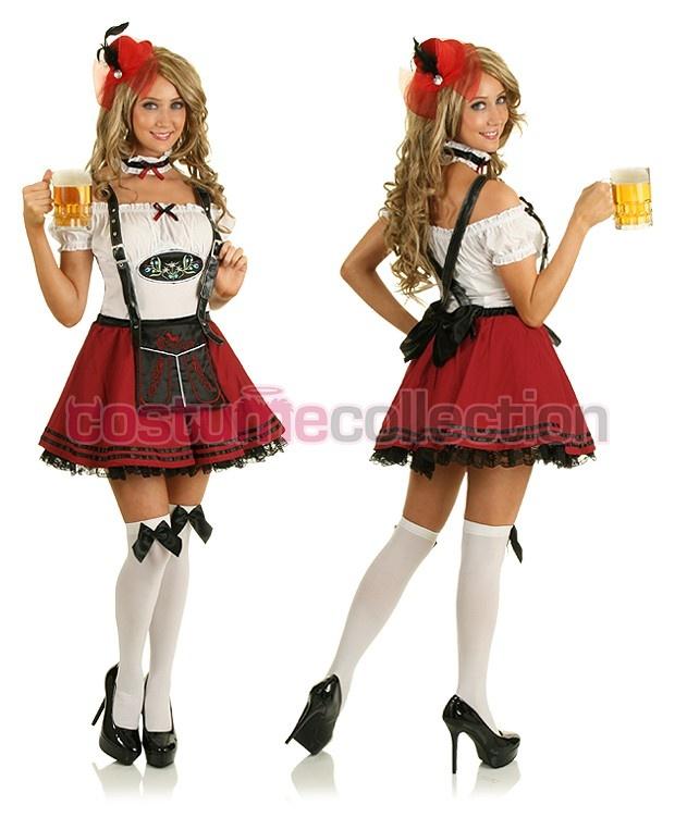 Oktoberfest Beer Maid Fancy Dress