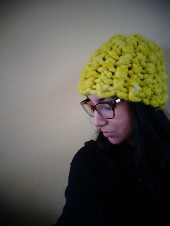Super Chunky Hat by deorigenchile on Etsy