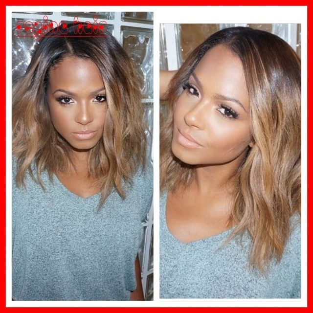 Gorgeous Short Ombre Wig Bob Full Lace Human Hair Wigs
