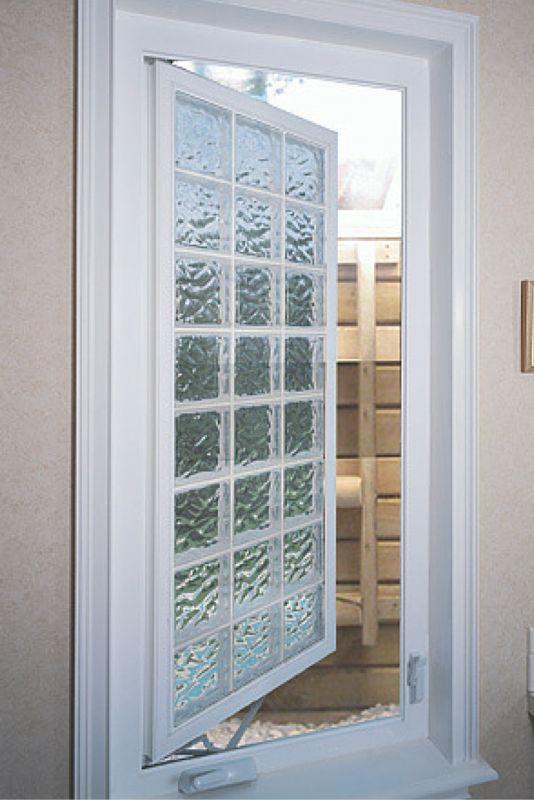 Best 25 egress window ideas on pinterest basement for Plastic glass block windows