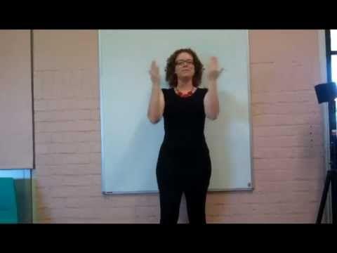 Auslan Australian Sign Language - Australian National Anthem (Aboriginal Themed Music) - YouTube