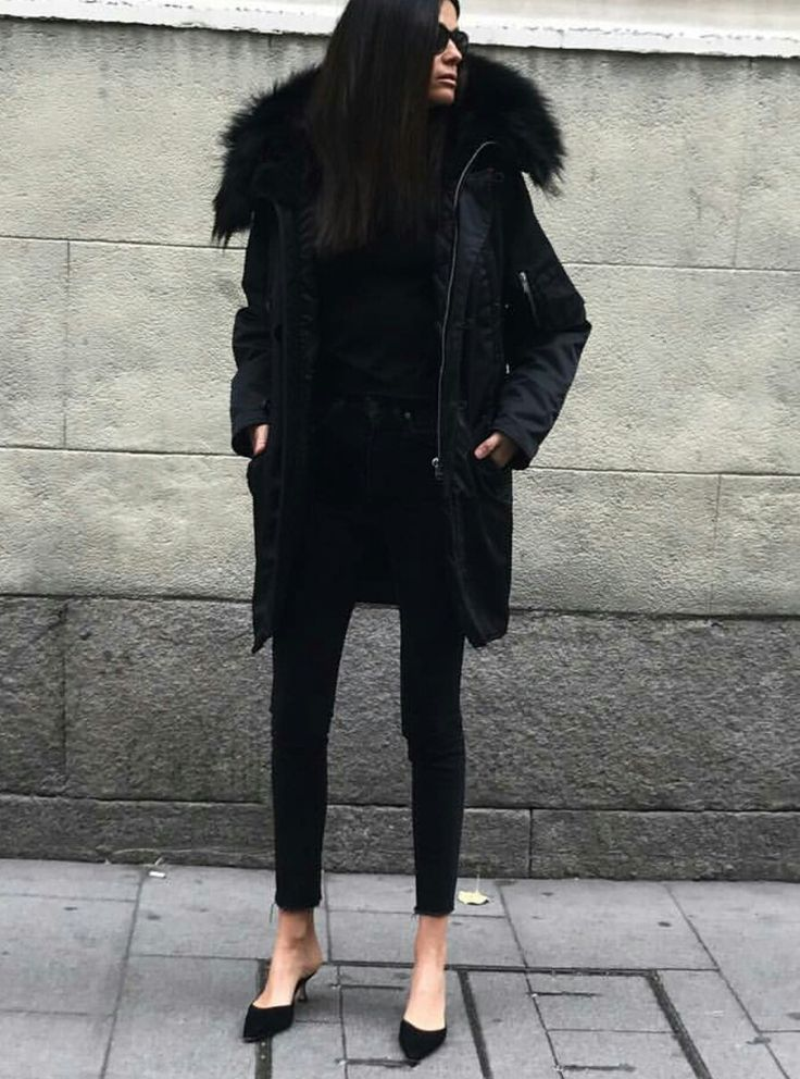 Best 25  Black winter coat ideas on Pinterest | Winter coat, Long ...