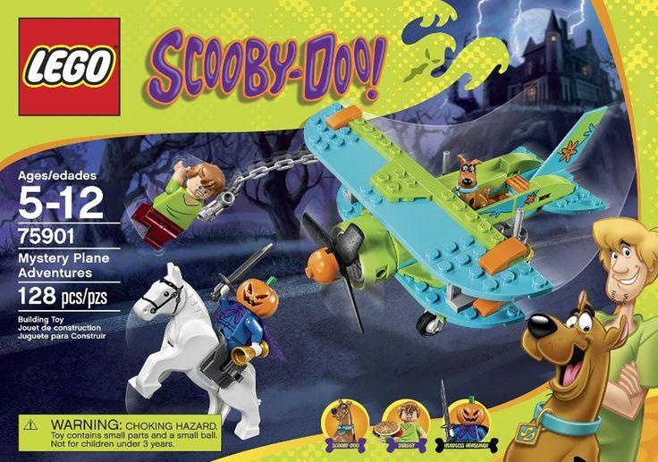 LEGO 75901 Mystery Plane Adventures – 128 pieces