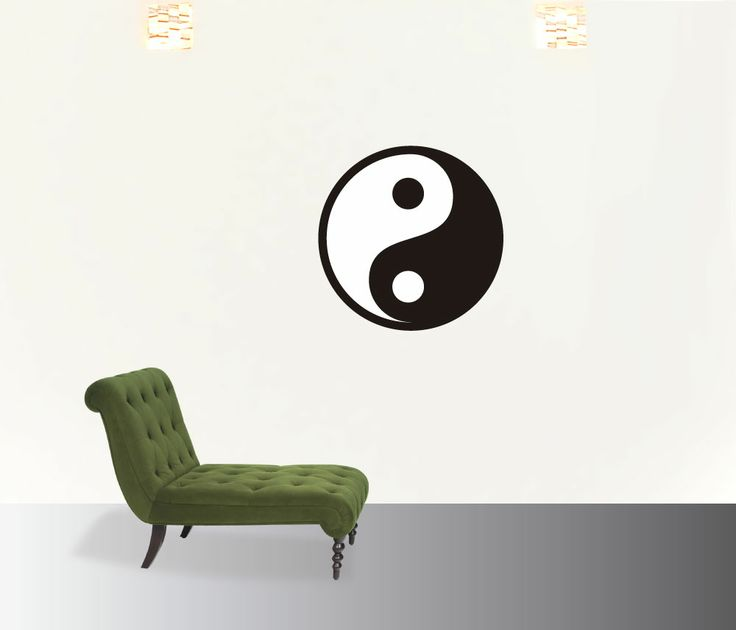 yinyang #decoraconvinil #vinilosdecorativos #decoracion #decoratupared #yoga #meditacion #yinyang