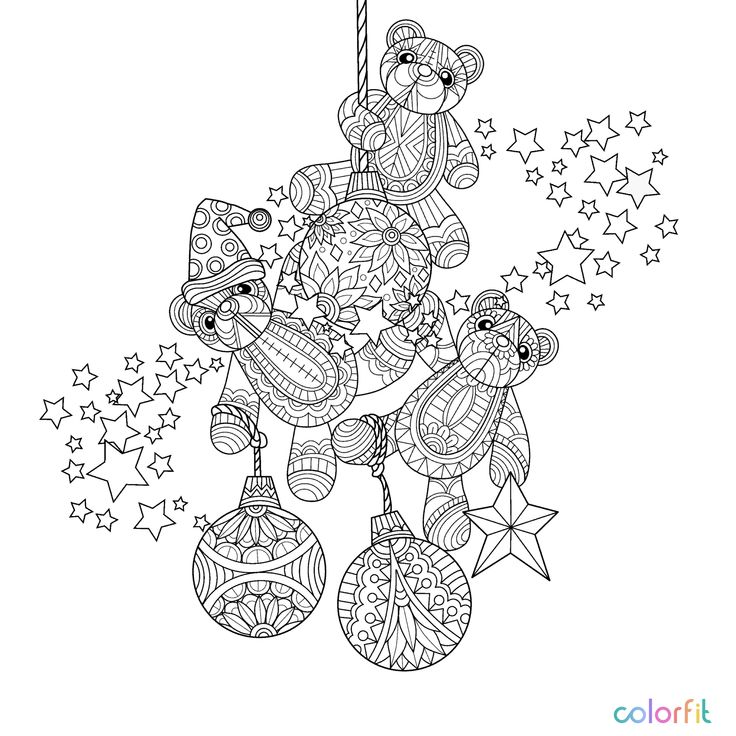 December 22 Colouring Coloring Books Vintage Pages