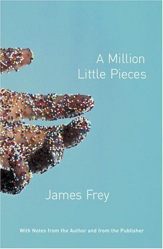 A Million Little Pieces is a semi-fictional memoir by James Frey. It tells the story of a 23-year-old alcoholic and drug abuser and how he copes with rehabilitation in a Twelve steps-oriented treatment center. While initially promoted as a memoir, it was later discovered that many of the events described in the book never happened.  Doesn't matter - still a good read.