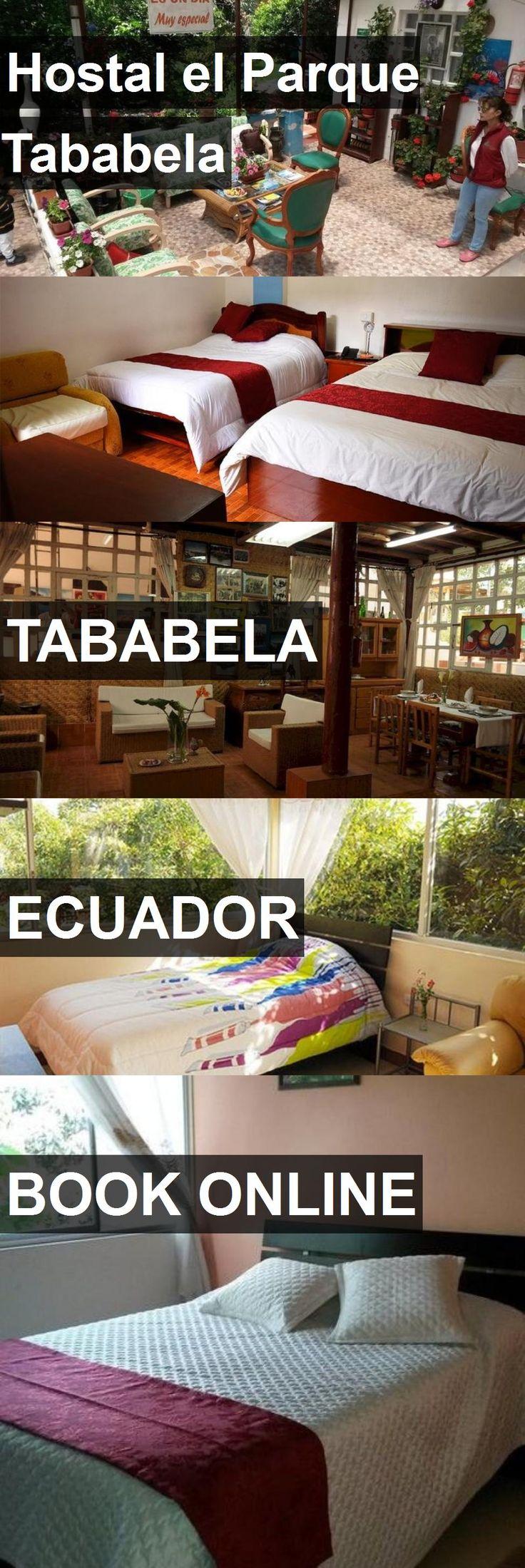 Hotel Hostal el Parque Tababela in Tababela, Ecuador. For more information, photos, reviews and best prices please follow the link. #Ecuador #Tababela #travel #vacation #hotel