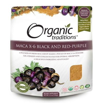 Organic Maca X-6 Powder 6:1