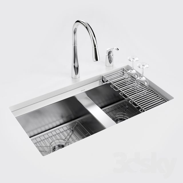 Kohler 8 Degree Under Mount Kitchen Sink Sink Diy Bathroom