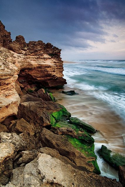 Sedgefield Beaches in the Garden Route of South Africa