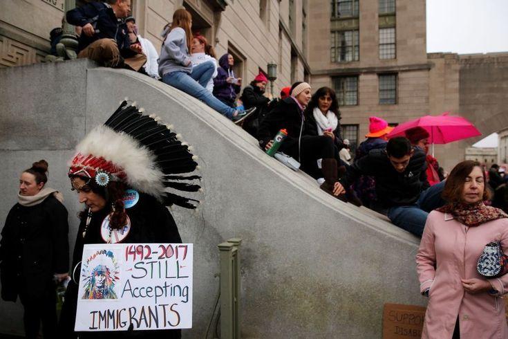 In beeld: de leukste protestborden tijdens de Women's Marches