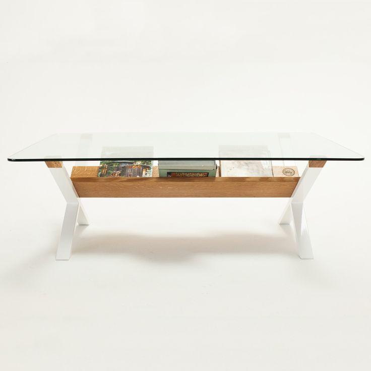 Sean Woolsey   X Coffee Table White Oak