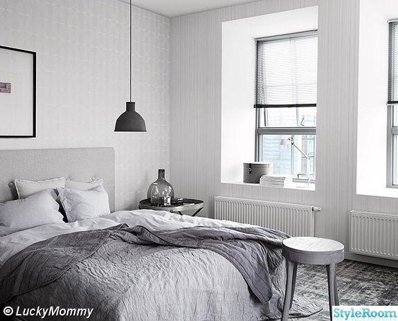 sovrum,grått,industri
