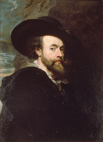Peter Paul Rubens Self-portrait (Canberra) - Peter Paul Rubens/1622–1624 - Wikimedia Commons