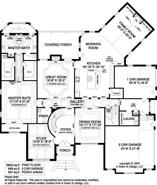 Old World Floor Plans European House Plan French