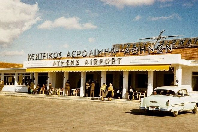 Αεροδρόμιο Ελληνικού, 1950