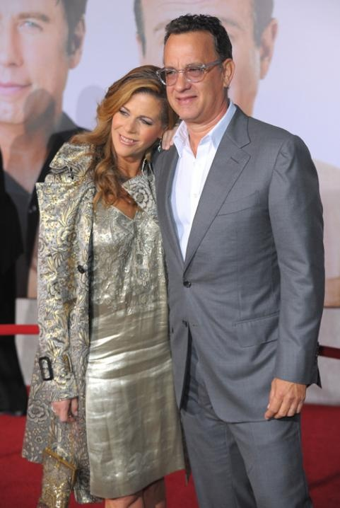 Tom Hanks and Rita Wilson, married 28 years in 2013.