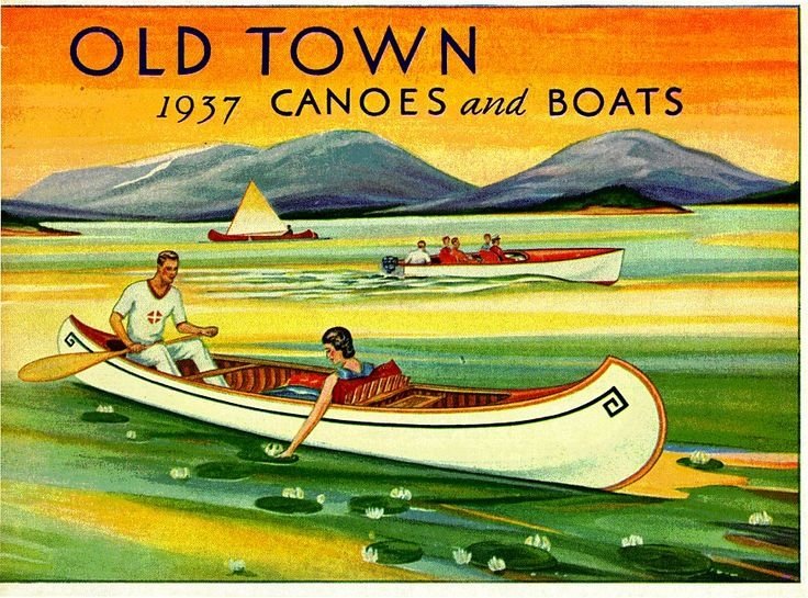 1937 Old Town Catalogue Cover