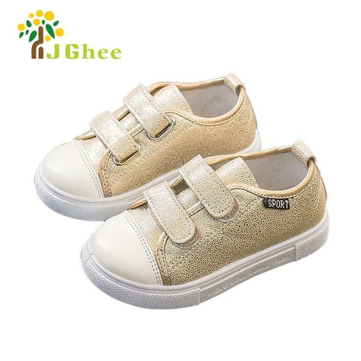 J Ghee 2017 School Shoes For Boys Girls Toddler Kids Sports Shoes Children Casual Sneakers PU Leather Fashion New Classic 21-30 #Affiliate