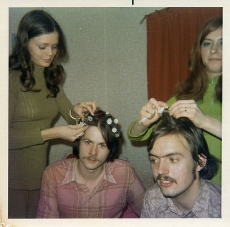 Home perms? in the early 1970's