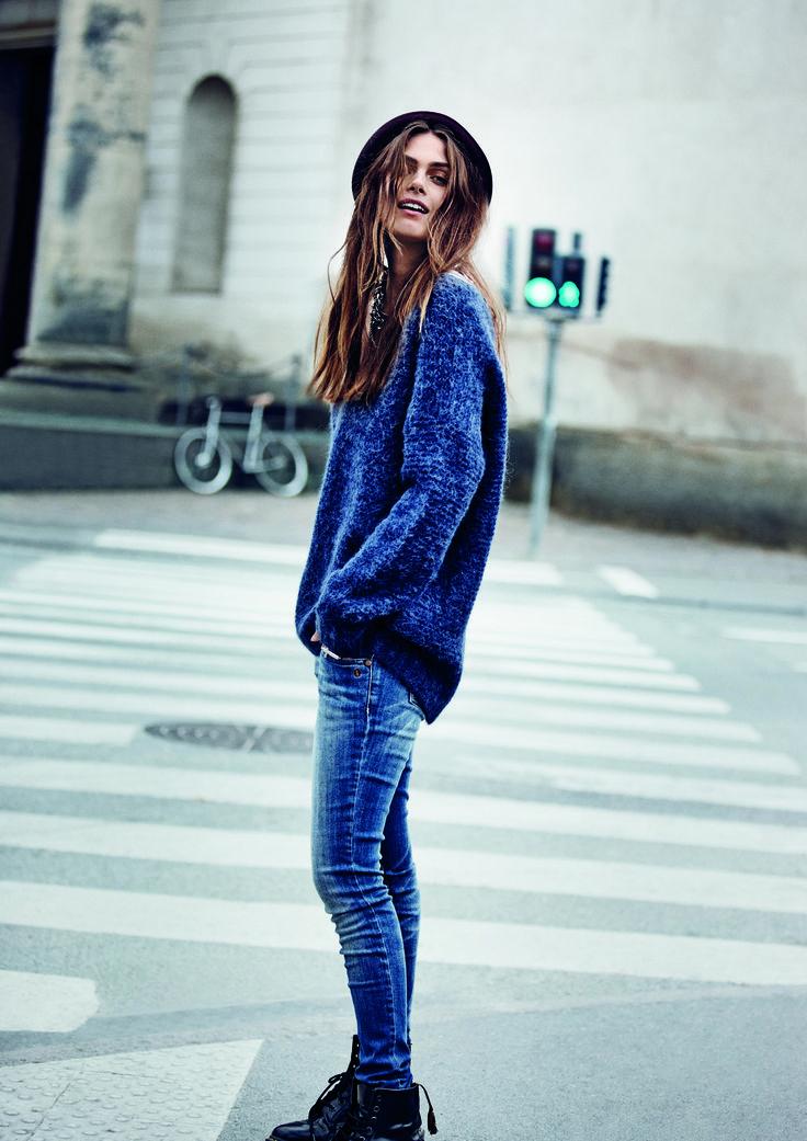 Muffi knit pullover (November 2013)