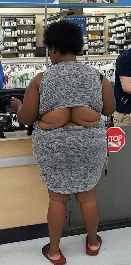 Double Back to Walmart for Open Back Outfits -- Fashion Fail - Funny Pictures at Walmart
