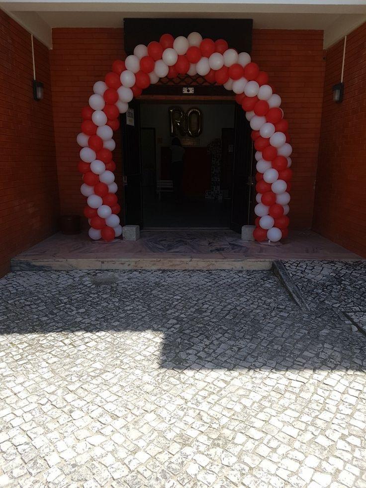 Entrada da festa do romérick
