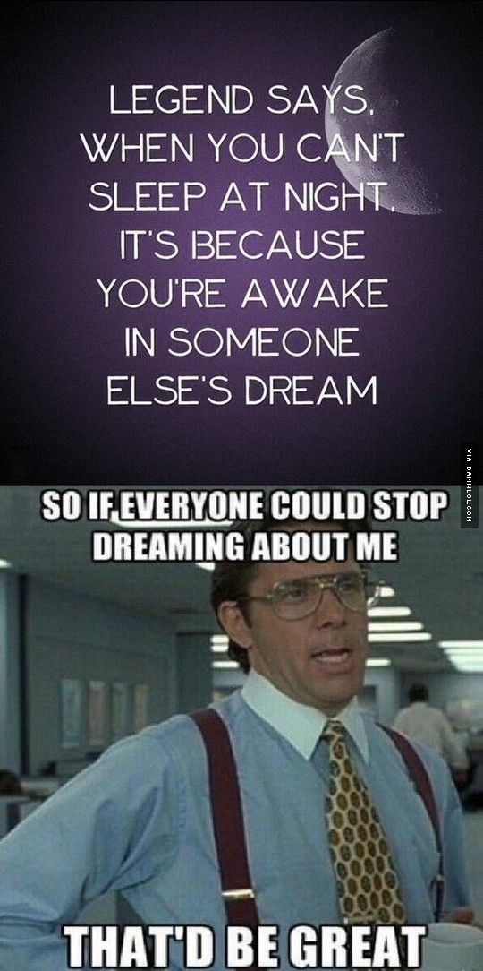 When You Can't Sleep At Night - The Best Funny Pictures