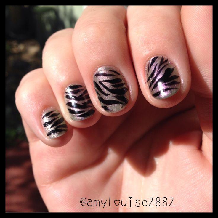 More freehand zebra stripes :)