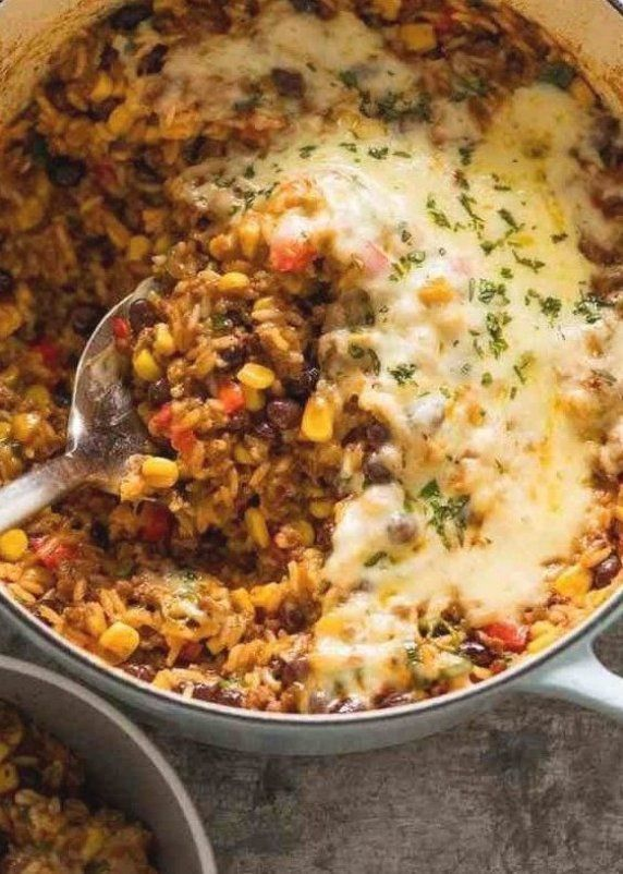 Mexican Ground Beef Casserole With Rice Beef Mince Recipetin Eats In 2020 Mexican Ground Beef Casserole Ground Beef Casserole Recipetin Eats