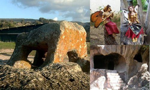 Domus de Janas: le case delle fate…    Quella delle Domus de janas è una leggenda sarda che combina elementi magici con le costruzioni millenarie in pietra presenti su tutta l'Isola, da #Cagliari a Santa Teresa di Gallura e sembra l'inizio di una fiaba.    #janas #sardegna
