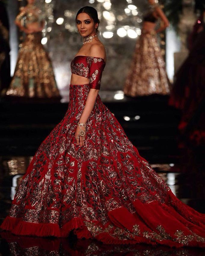 See the rest of @manishmalhotra05 collection titled 'The Persian Story' on our site  Link in profile  #manishmalhotralabel #manishmalhotra #indian #indianfashion #lehenga #deepikapadukone #shaadibazaar #wedding #indianwedding