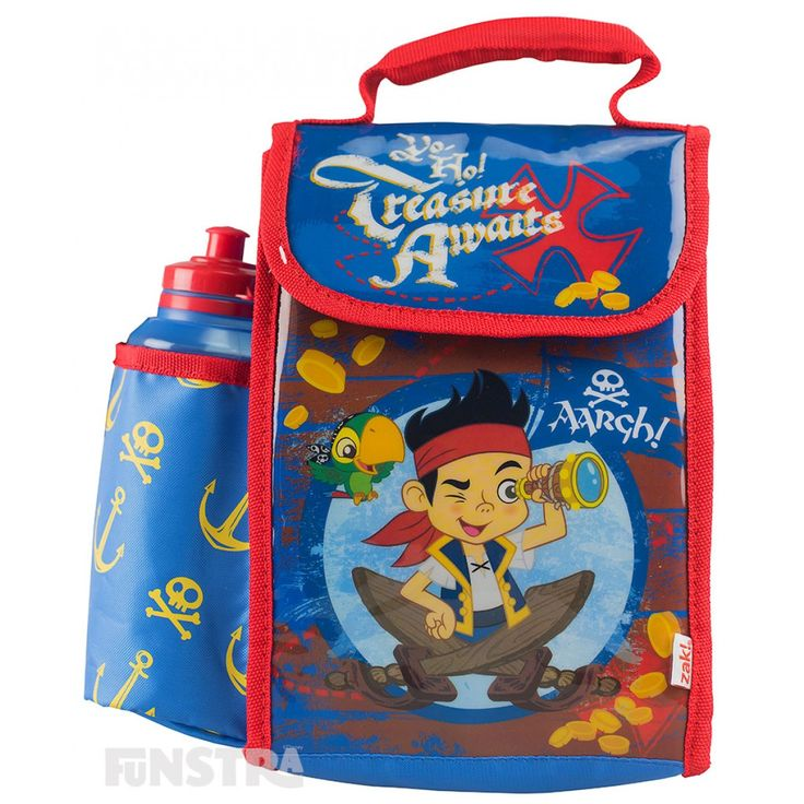 Jake and the Never Land Pirates Lunch Bag with Bottle from Funstra Toys