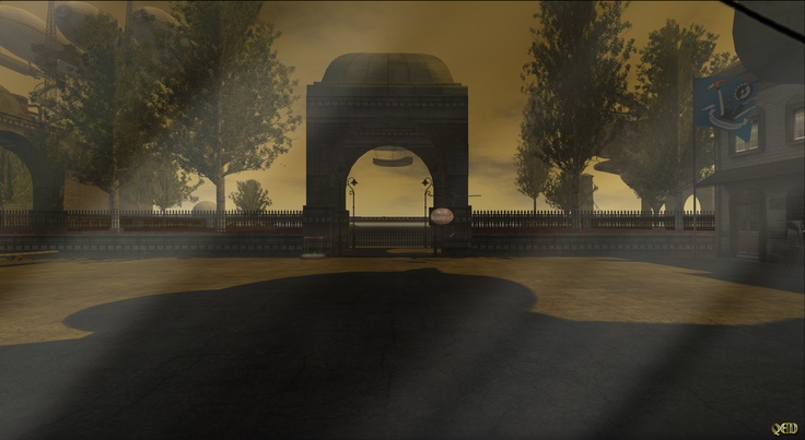 Touring the Sims of Second life : Steampunk